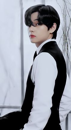 Kim Taehyung Funny, V Taehyung, Namjoon, Foto Bts, Bts Black And White, Most Handsome Men, Bts Pictures, Bts Boys, K Idols
