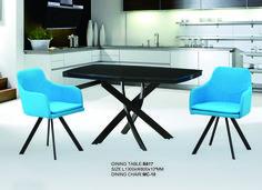 Dining table B817 & Dining chair  MC10