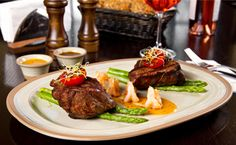 Grilled beef steak and shrimp — an easy but elegant surf and turf recipe. North Myrtle Beach Restaurants, Fresh Seafood Market, Duck Fat Fries, Steamed Mussels, Steak And Shrimp, Bangers And Mash, Vegetable Fried Rice, Surf And Turf, Great North