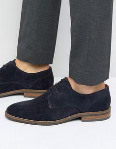 Tommy Hilfiger Daytona Suede Derby Shoes - Navy