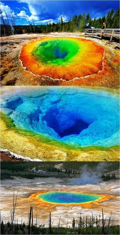 Beautiful Places To Visit, Beautiful World, Amazing Places, State Parks, Places To Travel, Places To See, Yellowstone Nationalpark, Yellowstone Park, Yellowstone Hot Springs