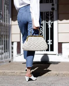 I have this thing for top handle bags! | Spring fashion | Spring outfit ideas | Instagram fashion