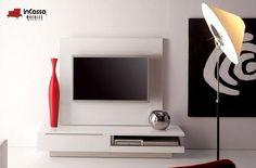 Centro de Entretenimiento Mod. ALEMANIA. PRECIO: $3,990. Incluye: 1 mueble para pantalla con panel. Medidas: Largo: 1.20m, Alto:1.40m, Fondo: 40cm --DISPONIBLE EN CUALQUIER COLOR.