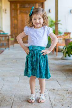 Lilly Batik Skirt
