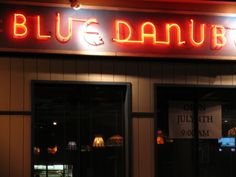 the Blue Danube in Columbus, OH. You can truly eat, drink & be merry in here.