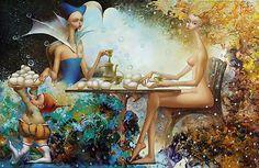 Paintings by Oxana Yambykh - ego-alterego.com