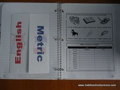 Middle School Science Blog - A collection of ideas for interactive science notebooks