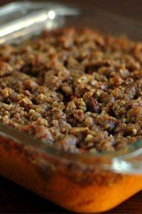 PENNSYLVANIA DUTCH THANKSGIVING - Sweet Potato Crunch ~ Walnut Creek Cheese - Amish Country's Finest Foods
