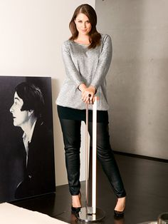 Leather Pants (Plus Size) 10/2013 pattern in BurdaStyle Magazine 2014 Fall Issue