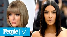 Taylor Swift Fans Are Mad After Kim Kardashian Posts Snap of Kanye's 'Famous' Exhibit | PeopleTV