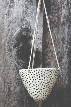 Hanging Planters by Half Light Honey Studio