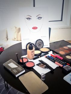 Gala Darling's Elizabeth Taylor look by Make Up For Ever #makeupforevericons