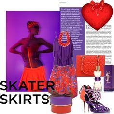 Pink Ladies Fashion blog: skater skirt