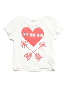 Free Your Mind Tee (Kids) | FOREVER21 #F21Girls