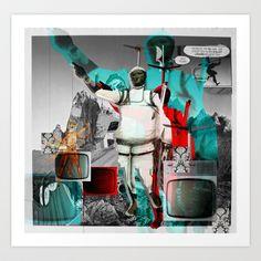 Essence Of Life · Zwischenwelten · Valium Art Print by Marko Köppe - $19.99