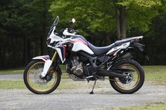 2017 Honda Africa Twin side view