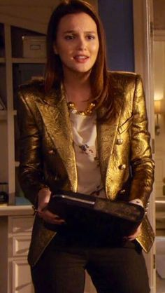 Blair Waldorf work style season 4 Gossip Girl