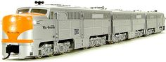Broadway Limited N Scale Alco PA Diesel Locomotives at BLW.