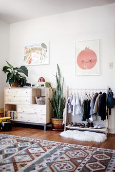 Before & After: A Long Narrow Room Becomes A Shared Solution   Apartment Therapy