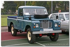 Land Rover Series III Pickup