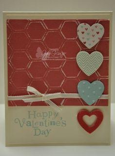 Using the new Hearts a Flutter stamp set and Framelit Bundle