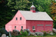 I love the Barn,the doors cupula though I also love Pink, just not on my barn. Though in this shade it's actually not so overly sweet.