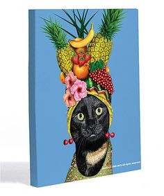 Take a look at this Fruit Canvas Wall Art by OneBellaCasa on #zulily today!