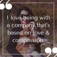 """""""I love being with a company that's based on love & compassion."""" Leave a comment below or send me a message to learn more! https://multibra.in/9dwgk"""