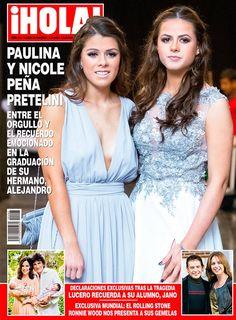 Esta semana en ¡HOLA!, todos los detalles del festejo de la familia presidencial por la graduación de Alejandro Peña Pretelini, en el que las más emocionadas fueron sus hermanas, Paulina y Nicole.