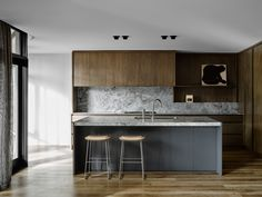 The best residential design in Australia this year: Flack Studio for Elsternwick Residence Image: Brooke Holm and Marsha Golemac Australian Interior Design, Interior Design Awards, Interior Styling, Australian Architecture, Contemporary Kitchen Sinks, Modern Kitchen Design, Contemporary Design, Contemporary Bedroom, Interior Exterior