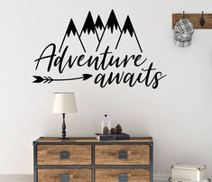 Arrow Wall Decal Playroom Mountain Nursery