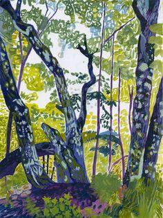 Forest Meditation 4 Elizabeth Chapin