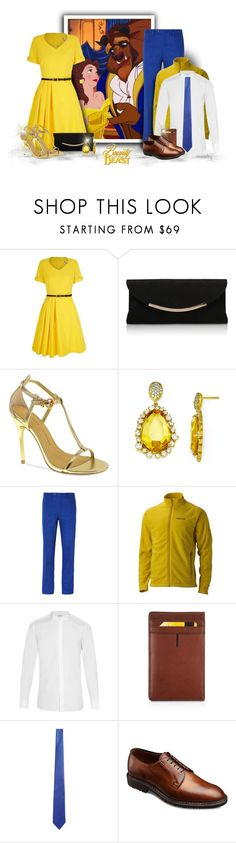"""Beauty & The Beast"" by majezy ❤ liked on Polyvore featuring Yumi, Carvela Kurt Geiger, Chinese Laundry, Kevin Jewelers, Marmot, Yves Saint Laurent, Tumi, Canali, Allen Edmonds and women's clothing"