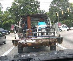 Redneck style...