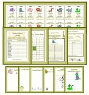 Free Printable Jungle Baby Shower Games