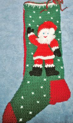 stockings - my Mom makes these if anyone is interested in purchasing