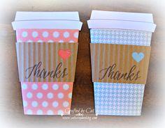 Thank you Coffee gift card holder ~ Zoe ~ Artistry ~ Art Philosophy ~ CatScrapbooking.com