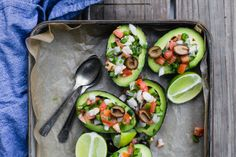 This flavorful ceviche recipe works with halibut, sea bass, or red snapper. Seafood Appetizers Seafood Appetizers Appetizers Appetizers for a crowd Appetizers parties Appetizers For A Crowd, Seafood Appetizers, Seafood Recipes, Mexican Food Recipes, Cooking Recipes, Salad Dishes, Salads, Shrimp Ceviche, Red Snapper