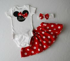 minnie mouse infant outfit - Google Search