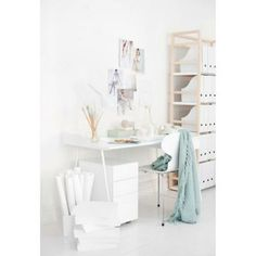 Overtime skrivbord small, vit från Voice – Köp online på Rum21.se