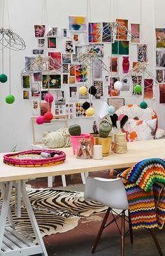 natalie miller desk via the red thread