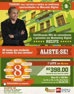 Certificação 8PS do Marketing Digital com Conrado Adolpho em Recife