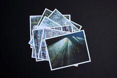 Photography Cards Set  8 Art Photo Cards  Handmade by sarsaparel