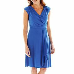 not sure this color can work, but I thought it was a nice dress - JCPenny