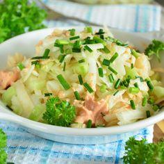 RACUSZKI Z JABŁKAMI - na kefirze, wypróbowany przepis   MOJA KSIĄŻKA KUCHARSKA Pierogi, Potato Salad, Cabbage, Potatoes, Vegetables, Ethnic Recipes, Food, Potato, Essen