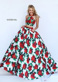 Sherri Hill Prom and Homecoming Dresses Sherri Hill 50115 Sherri Hill One Enchanted Evening - Designer Bridal, Pageant, Prom, Evening & Homecoming Gowns Gorgeous Prom Dresses, Prom Dresses 2016, Sherri Hill Prom Dresses, Cheap Prom Dresses, Pretty Dresses, Evening Dresses, Prom 2016, Cheap Formal Gowns, Moda Floral