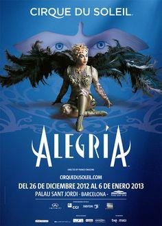 Alegría, Cirque du Soleil, Barcelona 2012/13 http://www.livenation.es/artist/cirque-du-soleil-tickets