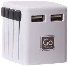 DESIGN GO WORLDWIDE TWIN USB CHARGER -- Details can be found by clicking on the affiliate link Amazon.com.
