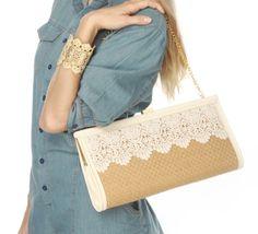 cute lace purse