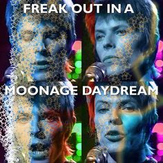 Moonage Daydream has got to be one of my all-time favourite David Bowie songs!